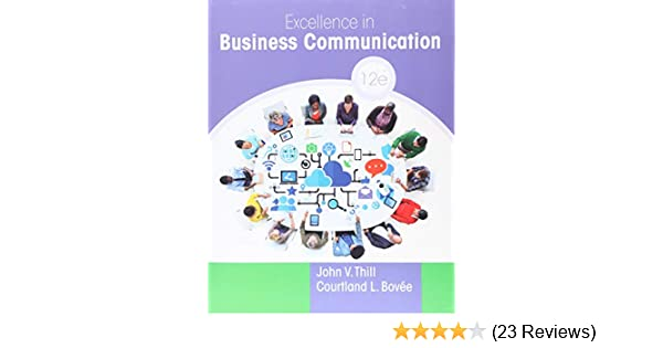 excellence in business communication 9th edition pdf download