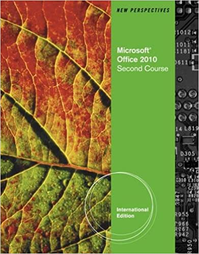 Book New Perspectives on Microsoft Office 2010, Second Course