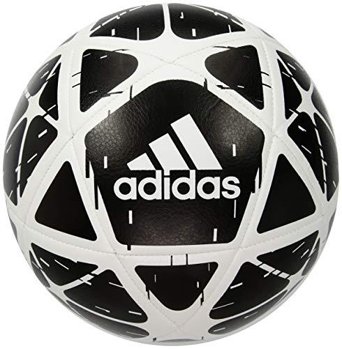 (adidas Performance Glider Soccer Ball, Black/White, Size 5)