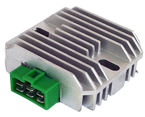 DZE 2317 Voltage Regulator Replaces John Deere 425 445 F911 Kawasaki #M97348 #21066-2056