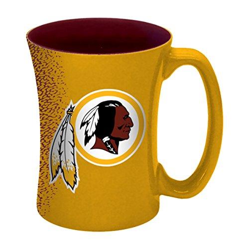 NFL Washington Redskins Mocha Mug, 14-ounce, Yellow