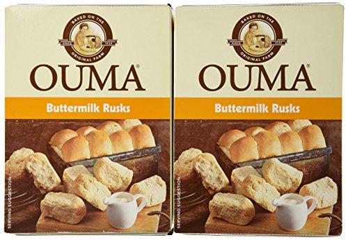 African Food - Ouma Buttermilk Rusks 500g (2 Pack)