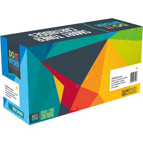 Do It Wiser Compatible Toner Cartridge Replacement for Kyocera FS-C5150DN - TK-582Y - (Yellow- 2,800 Pages) Photo #2