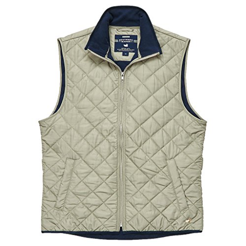 Marshall Quilted Vest in Sandstone by Southern Marsh