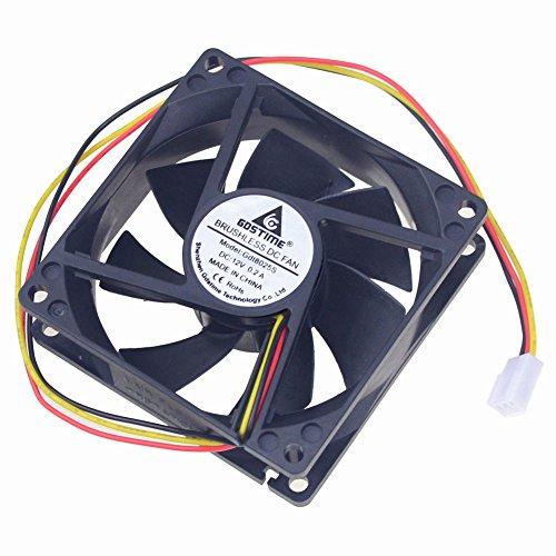 12v case fan 80mm - 7