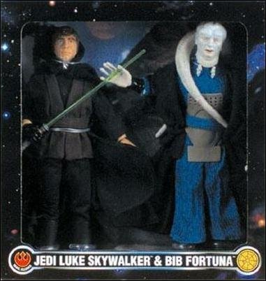 JEDI LUKE SKYWALKER & BIB FORTUNA (Hasbro Japan)