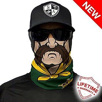 SA Company Sheriff Face Shield Loop Scarf Bandana Balaclava.  Multi-Functional 133d78a9add
