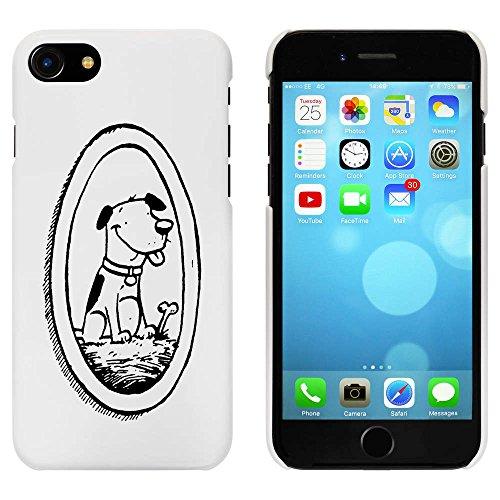 Weiß 'Gerahmte Hund' Hülle für iPhone 7 (MC00062562)