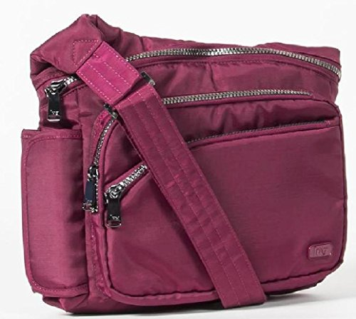Lug Women's Sidekick Excursion Pouch Cross Body Bag, Brushed Red, One Size - Excursion Bag
