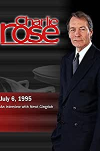 Charlie Rose with Newt Gingrich (July 6, 1995)