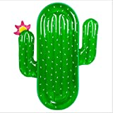 Asdomo Inflatable Cactus Pool Floats Raft, Adults Giant Floating Mattress Lounger Water Sport Lie Down Toys