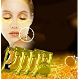 10 pairs New Crystal 24K Gold Powder Gel Collagen Eye Mask Masks Sheet Patch, Anti Ageing Aging, Remove Bags, Dark Circles & Puffiness, Skincare, Anti Wrinkle, Moisturising, Moisture, Hydrating by Canadian Beauty Products