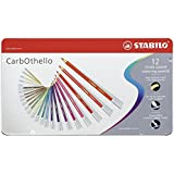 STABILO パステル色鉛筆 CarbOthello 1412-6 12色セット
