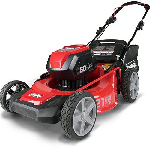 Snapper SP60V 60V Mower Includes 4Ah Battery and Charger (Lawn Mower Snapper Battery)