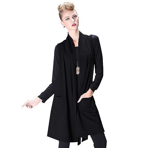 CNLL - Chaleco - Moda - para mujer negro negro Medium