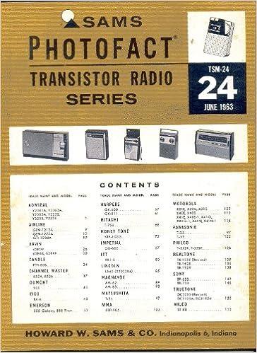 PHILCO T-905 TRANSISTOR RADIO PHOTOFACT