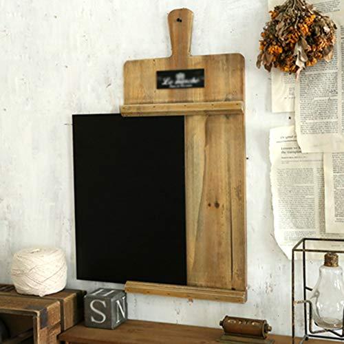 LIANGJUN Message Board Chalkboards Retro Do The Old Solid Wood Wall Mount Do The Trays Balcony Garden (Color : Wood, Size : 62x48cm) by LIANGJUN-lyj (Image #3)