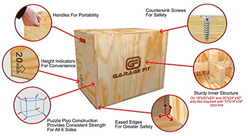 how to make an 18 inch plyo box