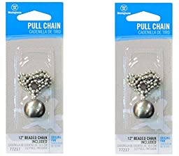 Westinghouse Lighting 77217 Decorative Pull Chain 12\