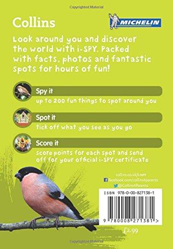 i-SPY Garden Birds: What can you spot? (Collins Michelin i-SPY