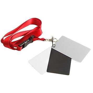 pangshi tarjeta de juego de 3 tarjetas de balance de blancos ...