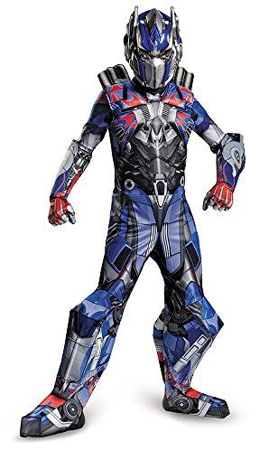 [Disguise Hasbro Transformers Age of Extinction Movie Optimus Prime Prestige Boys Costume,] (Prestige Optimus Prime Kids Costumes)