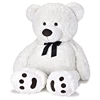 The newest Huge Teddy Bear now comes in a sharp tuxedo! This huge and fluffy teddy bear is so soft you'll want to hug, cuddle and take him everywhere you go! This bear is made with ultra-plush premium quality materials. The Teddy bear feature...