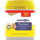 Babies R Us Premium Infant Formula in Mess-Less SmarTub - 45oz