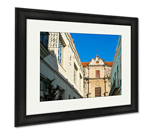Ashley Framed Prints Old Architecture In Cuba, Wall Art Home Decoration, Color, 30x35 (frame size), Black Frame, AG6530278 by Ashley Framed Prints