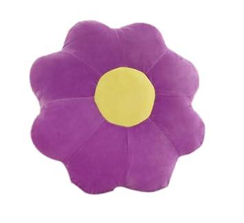 Westeng cojín forma de flor (tela de franela almohada Mignon ...