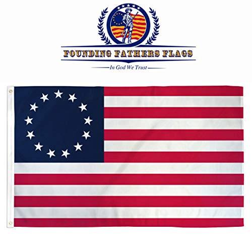 Founding Fathers Flags Betsy Ross Printed Flag - 3x5ft Premium Oxford Polyester ... ()