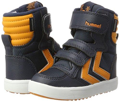 Boot Blu Stadil bambini Super Pepper Jr Neve orange Stivali Hummel Da Unisex Poly xgfAwwp