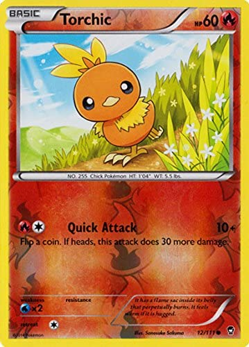 Furious Fists 12//111 Torchic Reverse Holo Pokemon Card