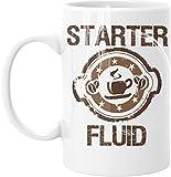 Quick Start Starter Fluid 15 Ounce Large White