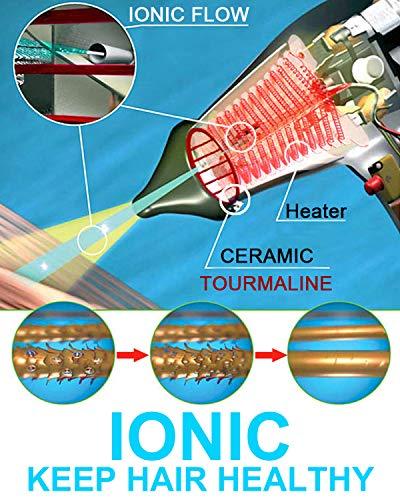 Professional Salon Hair Dryer 2200w Ionic Salon Blow Dryer JOHN Blast Turbo 6900 2