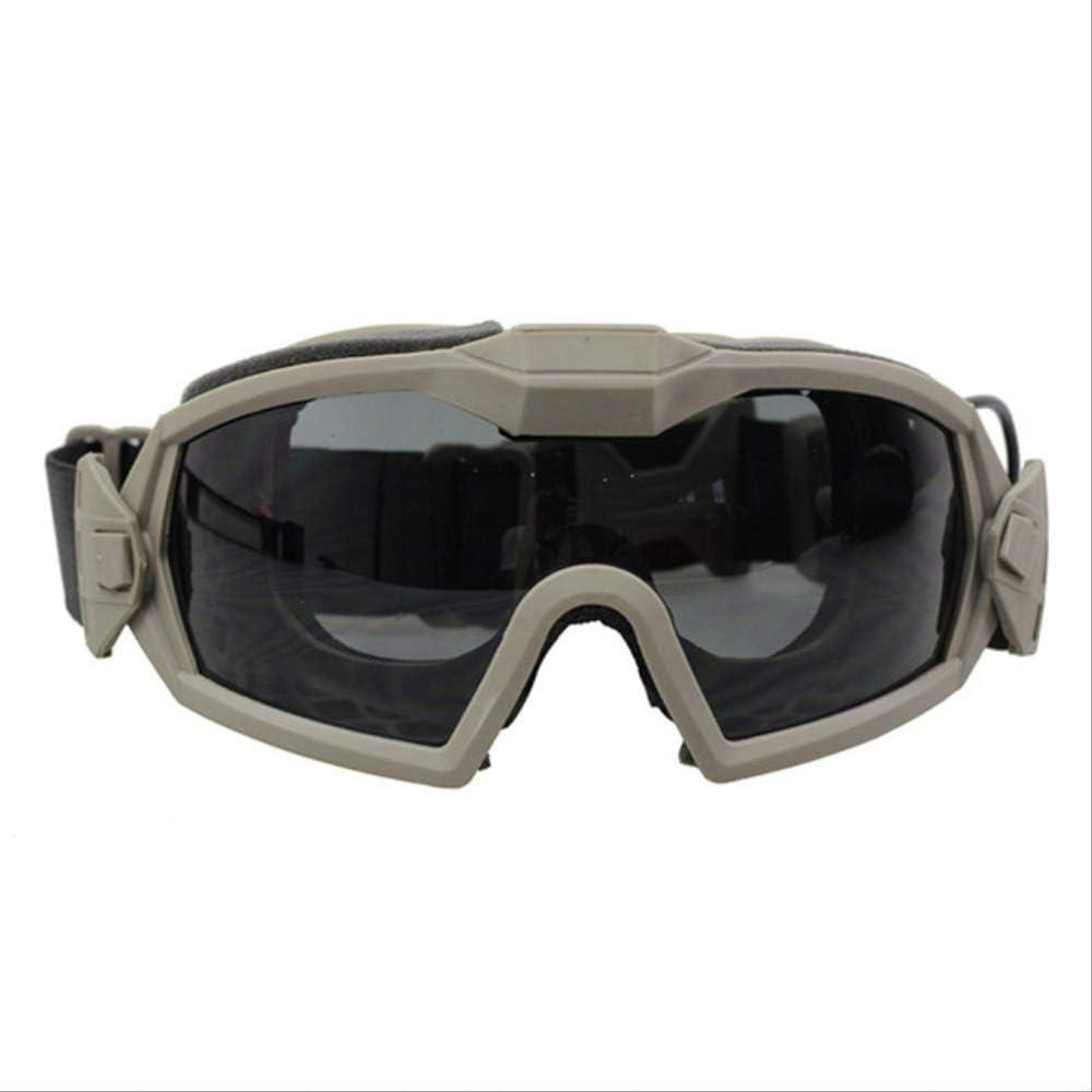 Gafas Protectoras de Seguridad para Airsoft Esqu/í Snowboard Ciclismo Juego CS Paintball T/áctico con Correa Ajustable