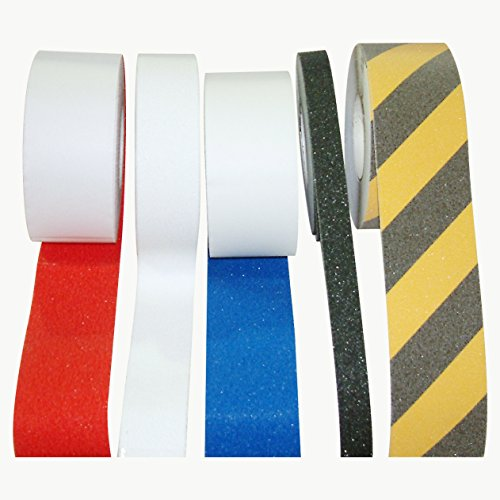 JVCC NS-2A Premium Non-Skid Tape: 2 in. x 60 ft. (Semi-Transparent/Translucent) by J.V. Converting (Image #2)