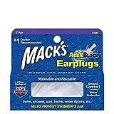 Mack's AquaBlock Earplugs 2 pair per pack - 4 PACKS