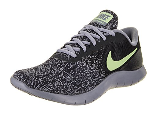 NIKE Womens Flex Contact Running Shoe Dark/Obsidian/Barely/Volt
