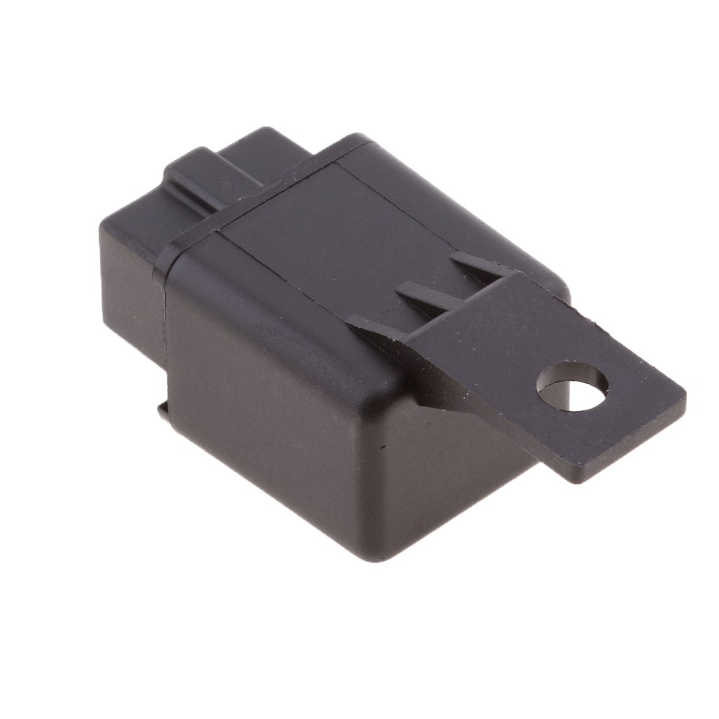 MagiDeal 12V 40A 4-Pin SPST Contact Automotive Relay With Bracket