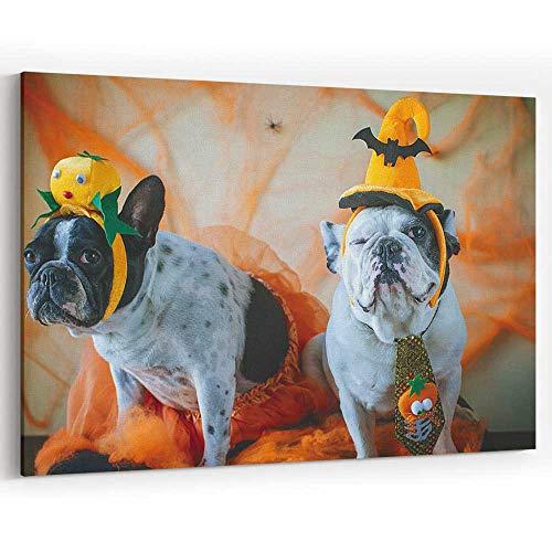 Actorstion Dog with Halloween Costume 116642 Canvas Art