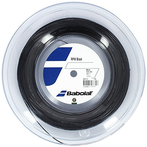 Babolat RPM Blast (17-1.25mm) Tennis String Reel (Black) ()