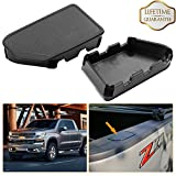 KIWI MASTER Bed Rail Stake Pocket Covers Compatible 2014-2018 Chevy Silverado GMC Sierra Holes