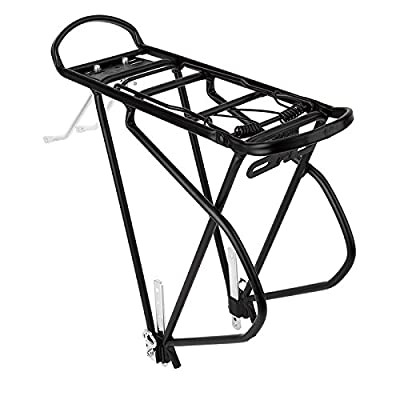 SUNLITE HD Touring Spring Rack, Black : Bike Racks : Sports & Outdoors