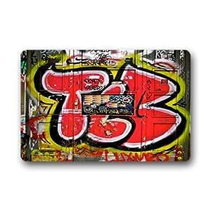"dalliy Custom Graffiti Felpudo al aire libre interior 23.6x15.7""About 59.9cmx39.8cm, tela, C, 23.6"" x 15.7"""