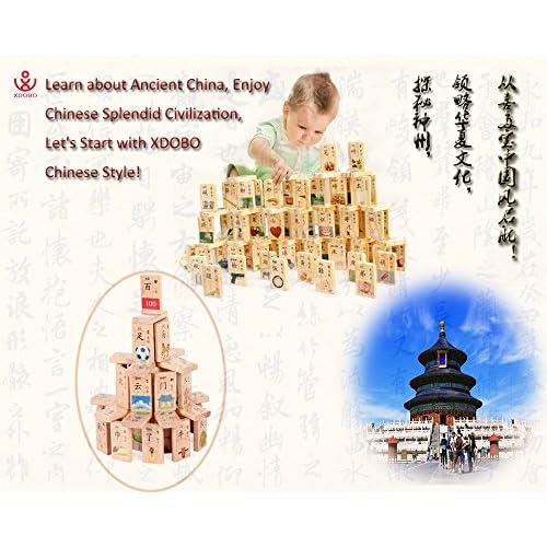 XDOBO New Chinese Characters Domino Children's Educational