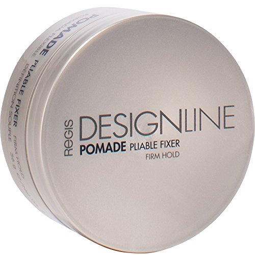 Pomade Pliable Fixer, 2 oz - Regis DESIGNLINE - Medium Hold Styling Aid for Providing Definition, Shine, and (Pliable Shine Pomade)