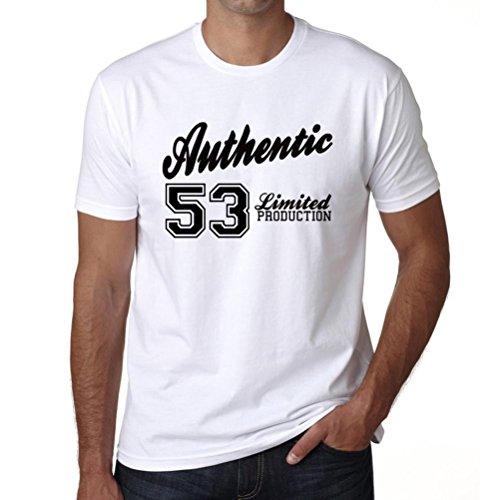 53, Authentic, authentisch tshirt, begrenzte produktion tshirt herren, geschenk tshirt