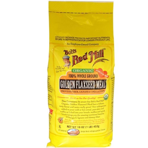 Bob's Red Mill Golden Flaxseed, 24-ounces (Pack of4)