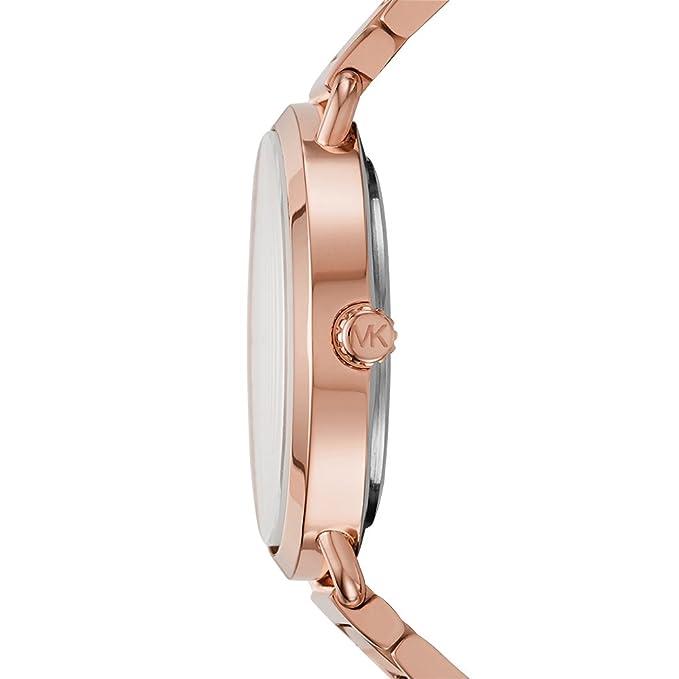 e1ef57f6e94d8 Amazon.com: Michael Kors Women's Portia Rose Gold-Tone Watch MK3640: Watches